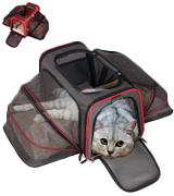 Pet Peppy XMS1457 Airline Approved Expandable Pet Carrier