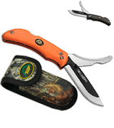 Outdoor Edge RazorPro RO-10 Replaceable Razor Blade Hunting Knife with Gutting Tool