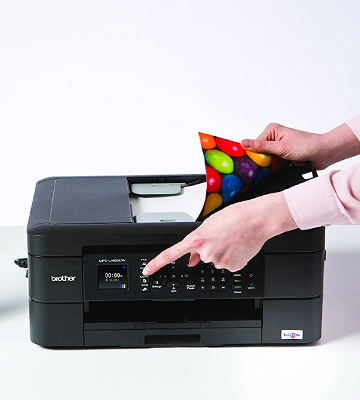 Review of Brother MFC-J480DW Wireless Inkjet Color All-in-One Printer