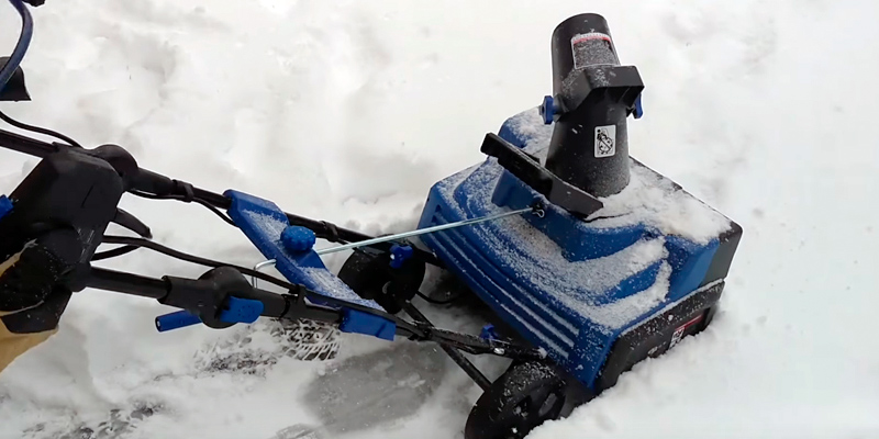 Review of Snow Joe SJ625E Electric Single Stage Snow Thrower