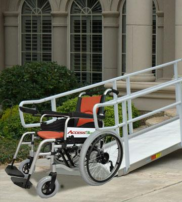 Review of Accessbuy Electric Power Portable Wheelchairs
