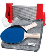 Franklin Sports Complete Portable Table Tennis Ping-Pong Set