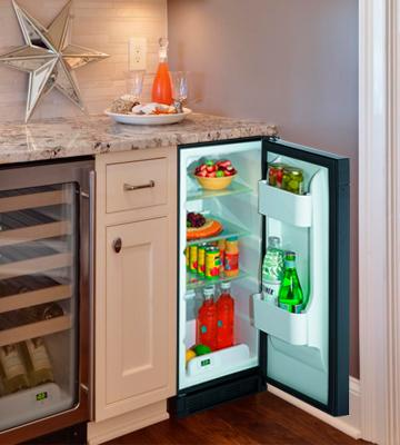 Review of U-Line 1115RS00 Built-In Compact Refrigerator