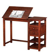 Dorel Living Wood Drafting Desk
