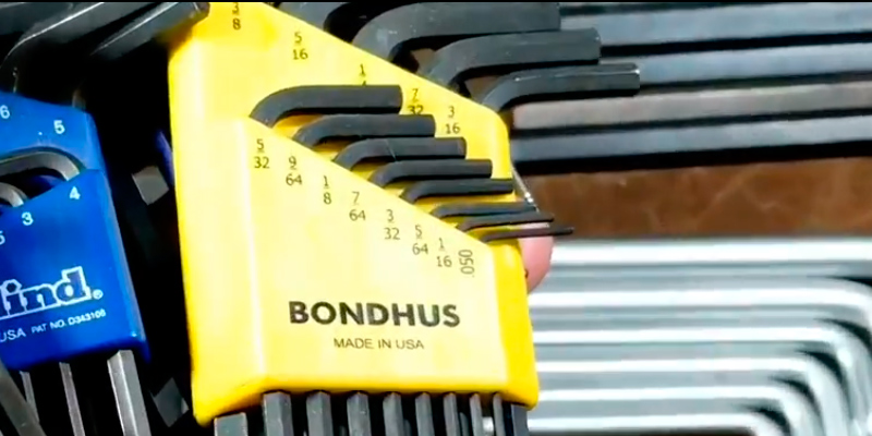 Review of Bondhus 20199 Hex L-Wrench Double Pack (22-piece, Inch/Metric)