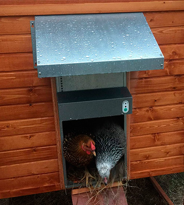 Review of AdorStore ADOR1 Automatic Chicken Coop Door, COMPLETE with BATTERY