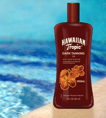 Review of Hawaiian Tropic SPF 0 Dark Tanning Oil