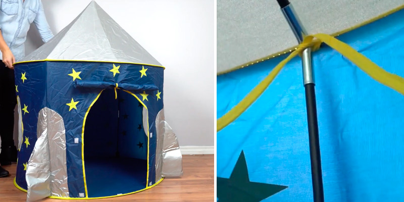 Review of USA Toyz Rocket Ship Kids Tent