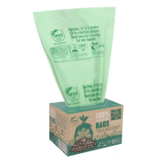 UNNI ASTM D6400 100% Compostable Trash Bags