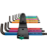 Wera 950 SPKL/9 SM N SB Multicolor Hex L-Key Set (9-piece, Metric)