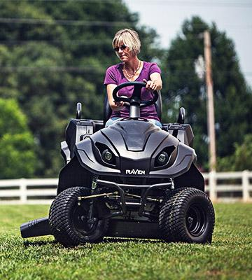 Review of Raven MPV7100 Hybrid Riding Lawnmower Power Generator