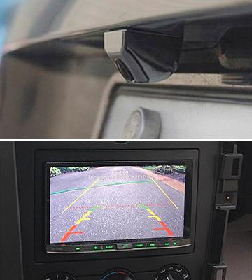Review of Car Rover Night Vision Night Vision Car Rear View Camera