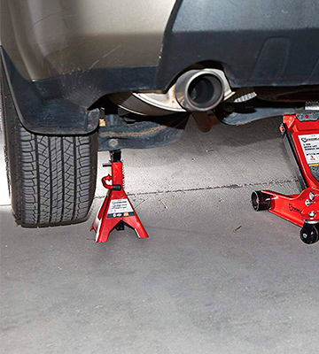 Review of Strongway NT43002C Double-Locking Jack Stands - Pair, 3-Ton Capacity