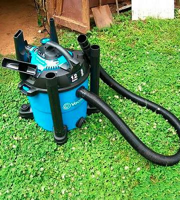 Review of Vacmaster VBV1210 Wet / Dry Vacuum with Detachable Blower