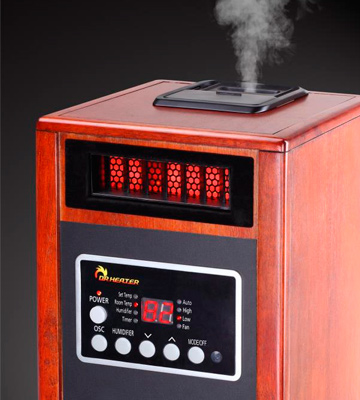 Review of Dr Infrared Heater DR998 Advanced Dual Heating System with Humidifier and Oscillation Fan