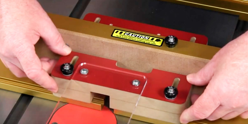 INCRA I-BOX Jig for Box Joints in the use