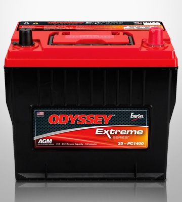 Review of Odyssey 35-PC1400T Automotive and LTV Battery