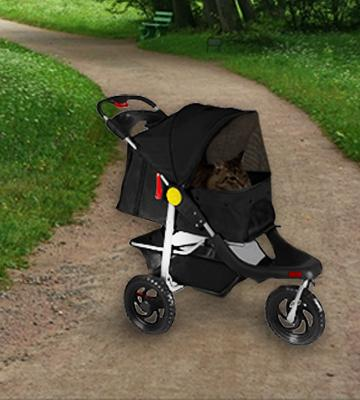 Review of OxGord 3-Wheel Folding Pet Stroller Deluxe