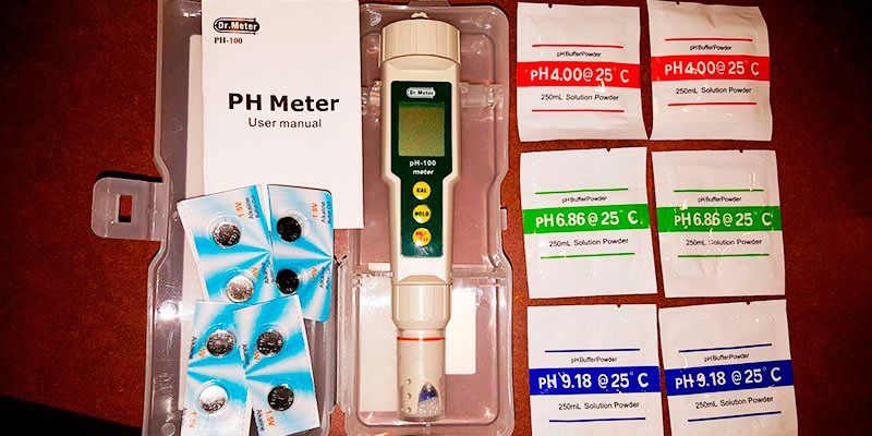 Detailed review of Dr. meter pH100 0.01 Resolution Pocket pH Meter