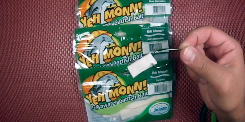 Review of Fish Bites 0121 Yeh Monn Freshwater Catfish Bait