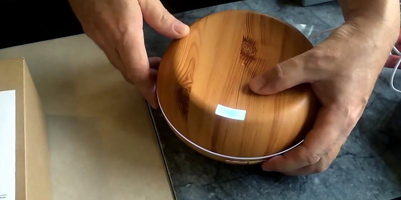 Review of InnoGear Aromatherapy Wood Essential Oil Diffuser