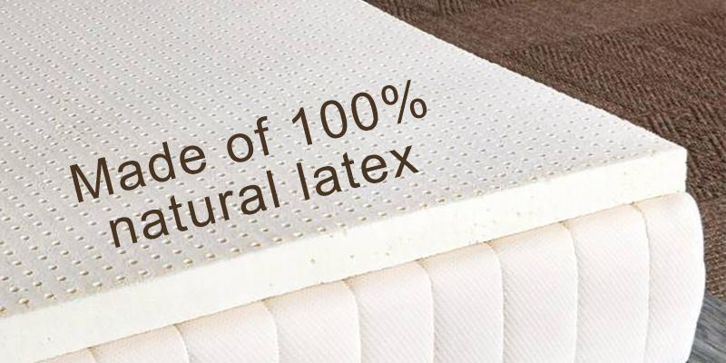 "Review of Sleep On Latex Pure Green 100% Natural Medium Firmness 2"" Twin XL Size"