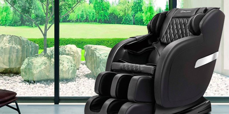 Review of Real Relax Massage Chair Recliner with Rocking Function,Robotic S Track
