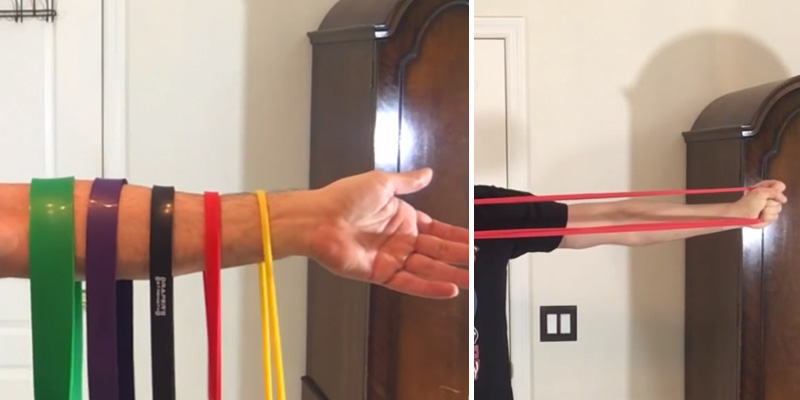 Review of Draper's Strength 4-Band Set Pull Up Assist and Power-lifting Stretch Bands