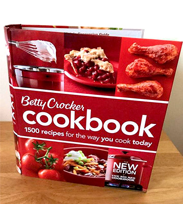 Review of Betty Crocker Cookbook: Ring-bound 1500 Recipes for the Way You Cook Today