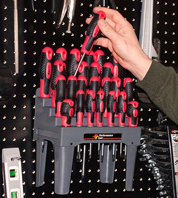 Review of Performance Tool W1726 26-Piece Screwdriver Set with Rack