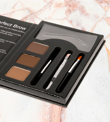 Review of Cameo Dark Brown Eyebrow Make up Kit