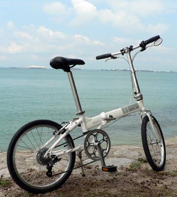 Review of Dahon Mariner D7 Folding Bike