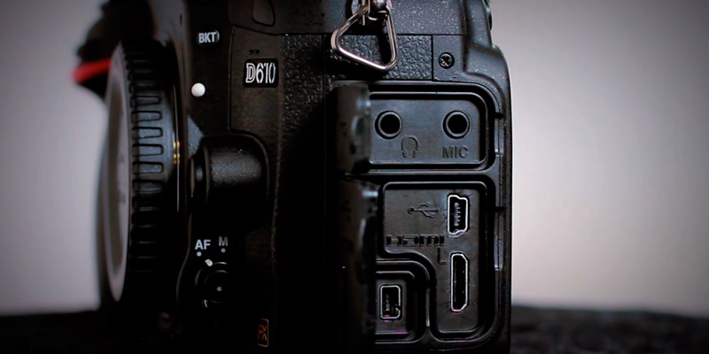 Nikon D610 CMOS FX-Format Digital SLR Camera (Body Only) in the use
