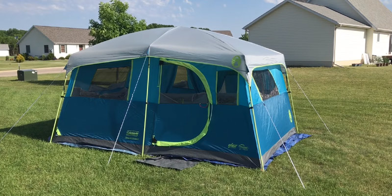 Review of Coleman 2000018088 Tenaya Lake Fast Pitch Cabin Tent