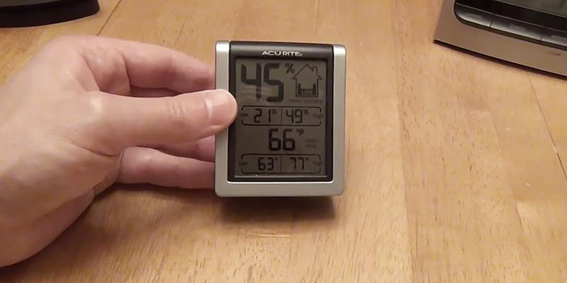 Review of AcuRite 00613A1 Indoor Humidity Monitor