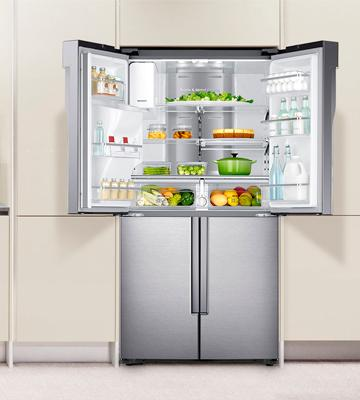 Review of Samsung RF23J9011SR Counter Depth French Door Refrigerator