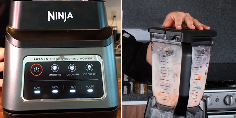 Ninja BN701 Professional Plus Blender with Auto-iQ in the use
