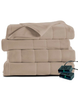 Sunbeam Microplush Heated Blanket with ComfortTec Controller