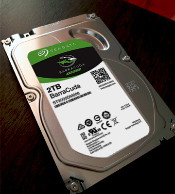 Review of Seagate BarraCuda 2TB Internal Hard Drive HDD 3.5 Inch