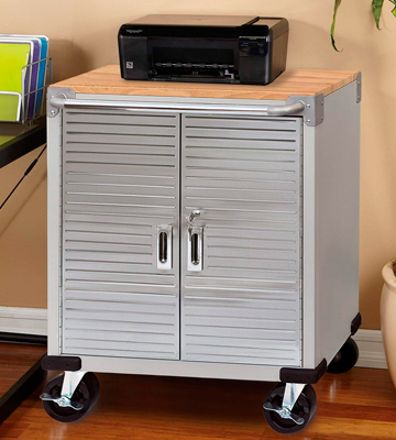 Review of Seville Classics UHD20227B Rolling Storage Cabinet