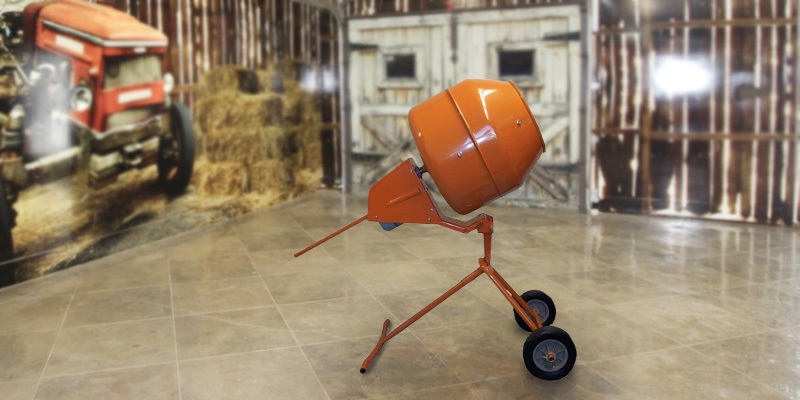 Review of XtremepowerUS X7001 Tall Concrete Mixer