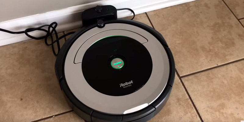 iRobot Roomba 690 Robot Vacuum with Wi-Fi Connectivity in the use