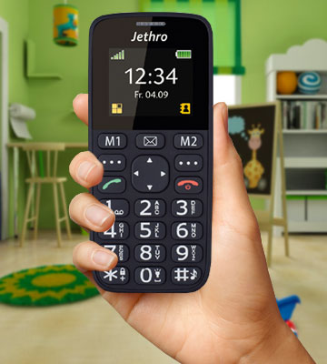 Review of Jethro SC118 Simple Unlocked Quad-band GSM Senior & Kids Cell Phone