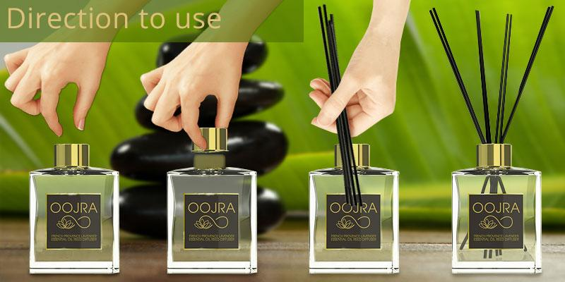 OOJRA Oil French Provence application