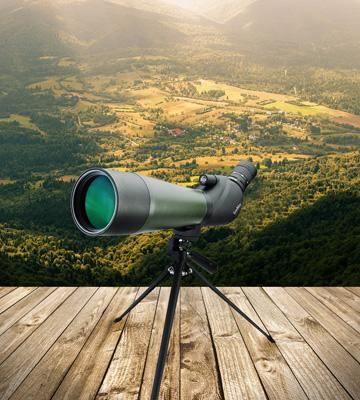 Review of Gosky Porro Prism Spotting Scope