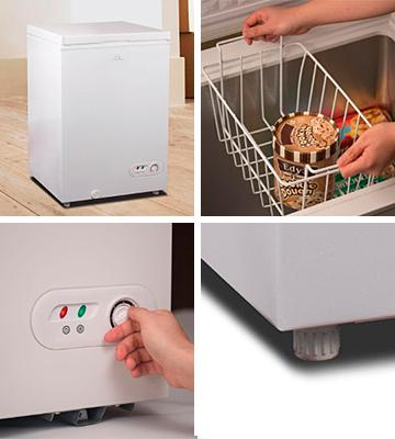 Review of Commercial Cool CCF35W Chest Freezer