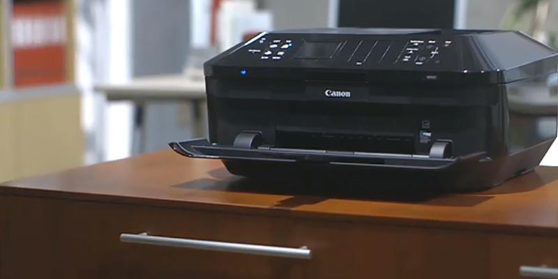 Canon PIXMA MX922 Wireless Office All-In-One Inkjet Printer in the use