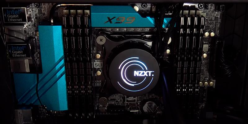 NZXT Kraken X61 All-in-One Liquid Cooling System in the use