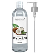 Majestic Pure Coconut Oil For Aromatherapy Relaxing Massage,
