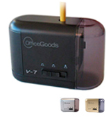 OfficeGoods V-7 Electric & Battery Operated Pencil Sharpener